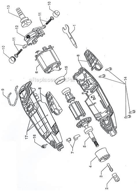 Multi Tool Component Diagram by Dremel 3000 Parts List And Diagram Ereplacementparts