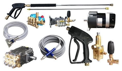 power wash equipment pressure washer parts and accessories