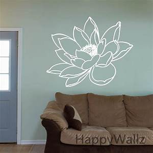 o lotus flower wall sticker sticker flower lotus With beautiful flower decals for walls