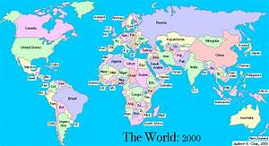 Simple World Map With Country Names | My Blog