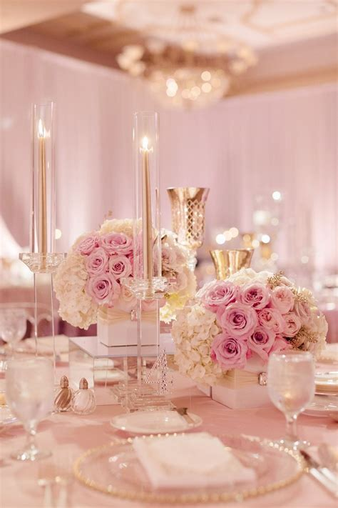 25 Best Ideas About Pink And Gold Wedding On Pinterest, Black White And Pink Wedding Table