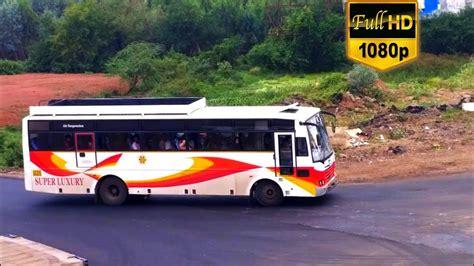 APSRTC SUPER LUXURY going towards TIRUPATHI. - YouTube