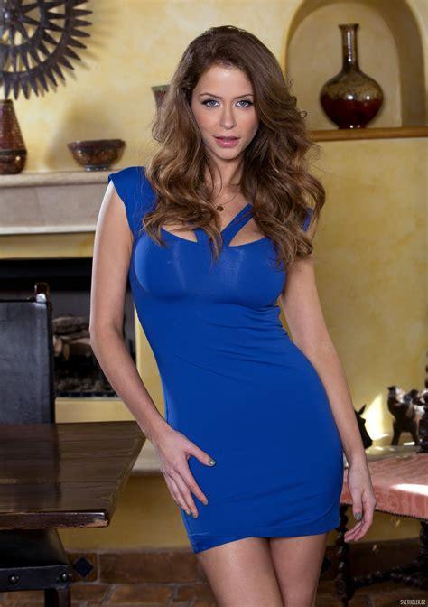 Emily Addison Blue Dress Hot Girls Pinterest