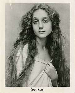 Two publicity photographs with agency memo | Carol Kane