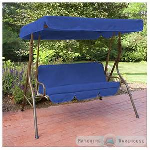 Replacement 2 Seater Swing Seat Canopy Cover And Cushions