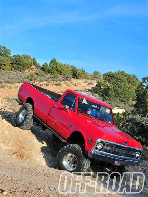 Clean And Classic  1970 Chevy K20 Long Bed Offroad