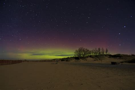 northern lights in michigan chances increase for northern lights across michigan