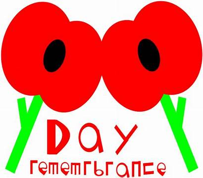 Remembrance Clipart Poppy Clip Cliparts Bad Template