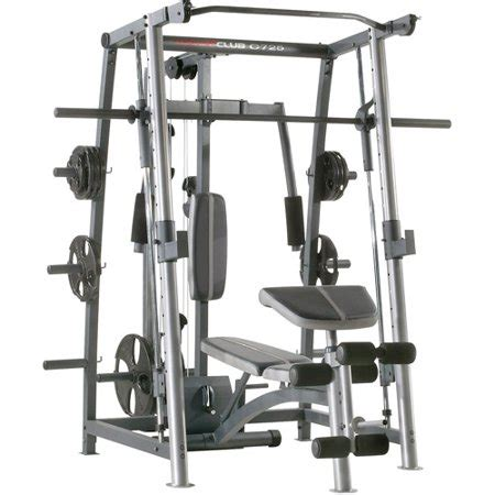 Weider Club C725 Rack And Bench, Webe406721of2, Box 1 Of