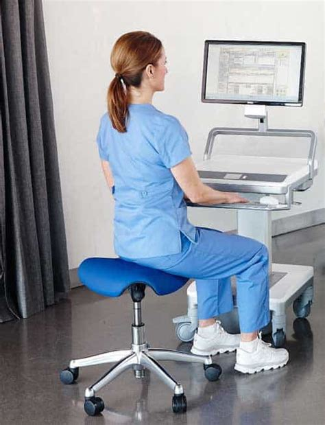 saddle humanscale chairs sitting hobbr posture