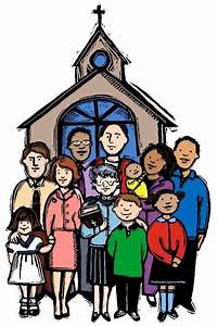 Church Family Clipart - ClipartXtras