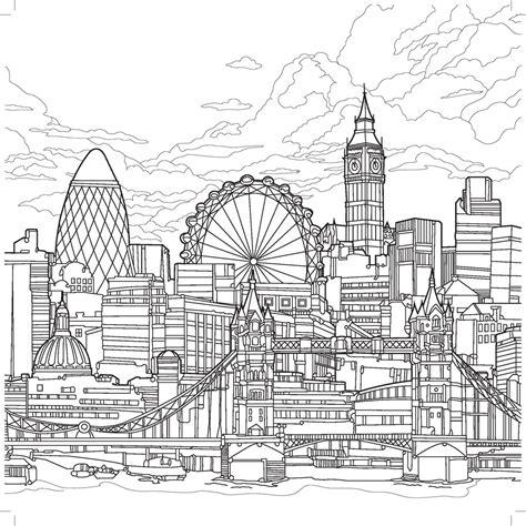kaiser colour love london colouring book