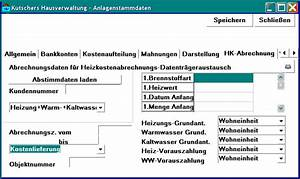 Abrechnung Heizkosten : datenaustauschhk ~ Themetempest.com Abrechnung