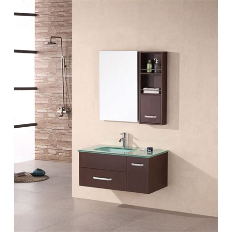 design element christine  single bathroom vanity set