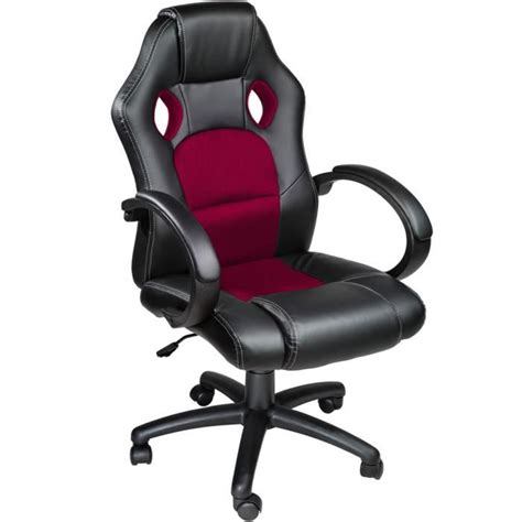 chaise de bureau racing chaise de bureau racing sport noir bordeaux rembourrage