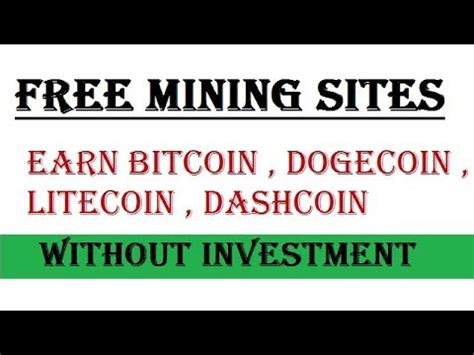 how to earn bitcoin without mining mine all crypto currency free cloud mining earn
