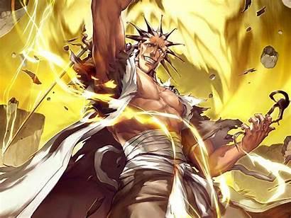 Kenpachi Bleach Zaraki Anime Wallpapers Power Background