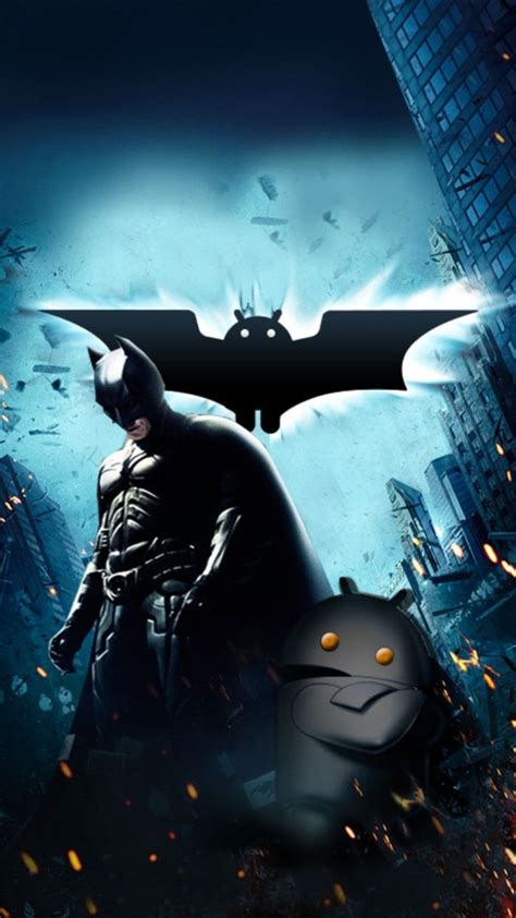 Batman Hd Wallpaper For Mobile by Batman And Android Mobile Wallpaper 3692 Mobile