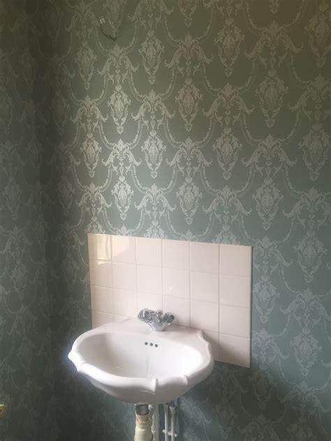 r 201 novation d une maison en papier peint steve robert peinture