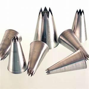 Spritzbeutel Mit Tüllen Set : spritzbeutel t llen set sternformig 6 teilig aus metall 6 tlg pe dose ~ Markanthonyermac.com Haus und Dekorationen