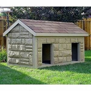Dog house plans for extra large dogs for Extra large dog houses for multiple dogs