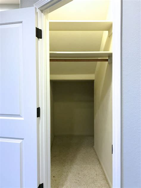 simply done the ultimate stairs closet simply
