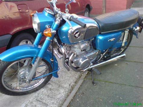 honda cd175 motorcycle machine classic