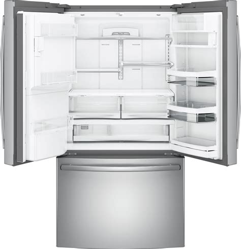 ge profile pyekskss   cu ft counter depth french door refrigerator stainless steel