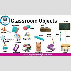 Classroom Objects  English Study Here