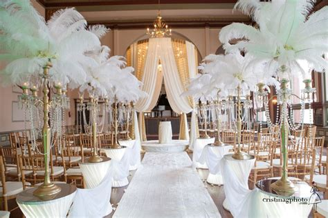 Wedding Trends: Opposites Attract Gatsby wedding