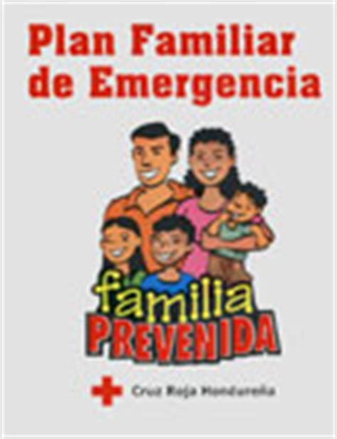 plan de emergencias familiar documento plan familiar de emergencia