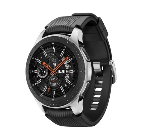 electronics featured brands samsung samsung galaxy silver with black band 46mm