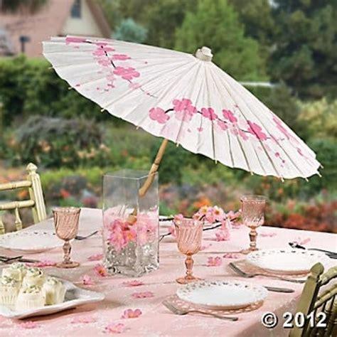 Wedding Theme Cherry Blossom Parasol #2567785 Weddbook