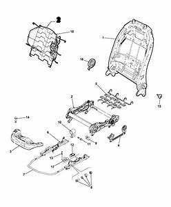 2017 Jeep Renegade Adjuster  Recliner And Shields