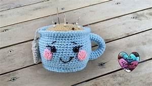Crochet En S : tasse kawaii crochet tutoriel au crochet pr sent par ~ Nature-et-papiers.com Idées de Décoration