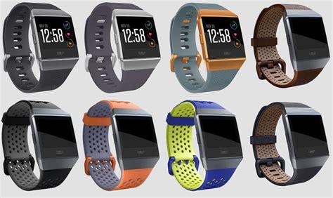 fitbit ionic bands vs features versa colours apple smartwatch grey straps screen wrist android colour near wristband range feature techadvisor