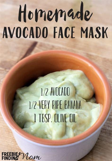 Homemade organic face mask