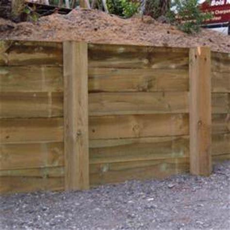 poteau bois 15 x 15 cm pour retenue de terre autoclave idea bois nicolas