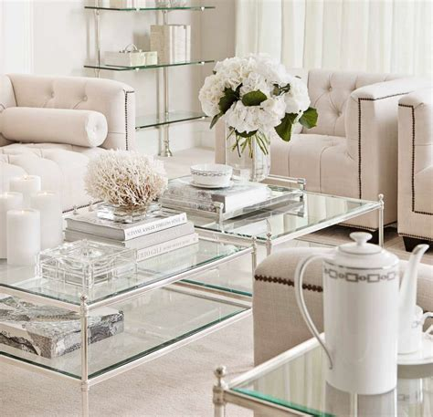 aubrey silver coffee table shop