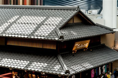 japanese roof tile flickr photo