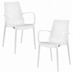 Polyrattan Stuhl Weiß : 2x gartenstuhl 89x54 5x55cm braun rattan optik ~ A.2002-acura-tl-radio.info Haus und Dekorationen