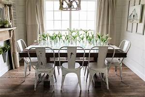 Springtime Home Tour Dining Room Cotton Stem