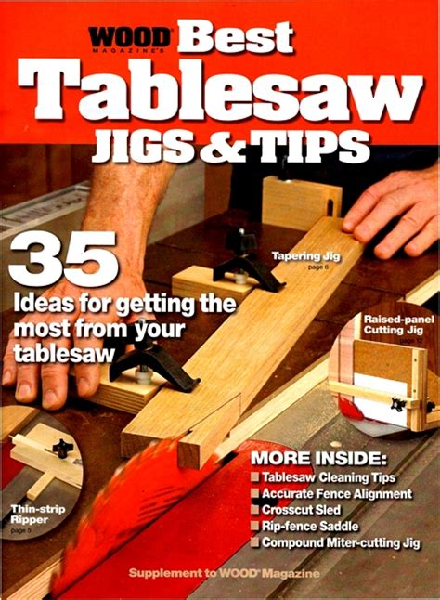 wood  tablesaw jigs tips  magazine