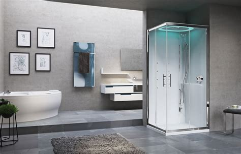cabina doccia novellini cabina doccia multifunzione eon a 100x80 novellini