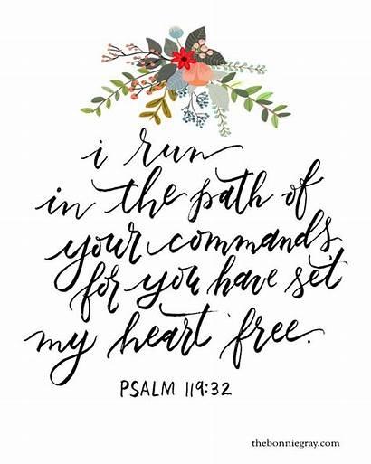 Printable Bible Verses Verse Heart Quotes Scripture