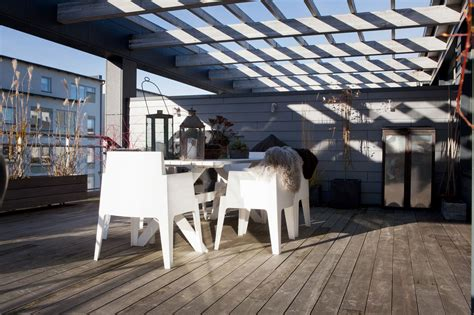 atico moderno  amplia terraza blog tienda decoracion