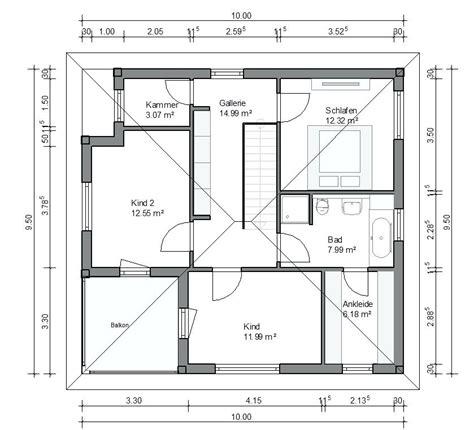 Einfamilienhaus Mit Integrierter Doppelgarage Grundriss by Genial Einfamilienhaus Mit Doppelgarage Grundriss Haus Mit