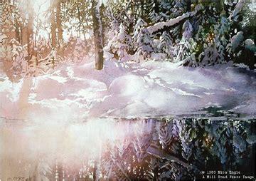 melting  spring  watercolor artist nita engle