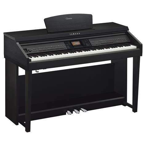 yamaha digital piano yamaha cvp 701 clavinova digital piano black walnut at gear4music
