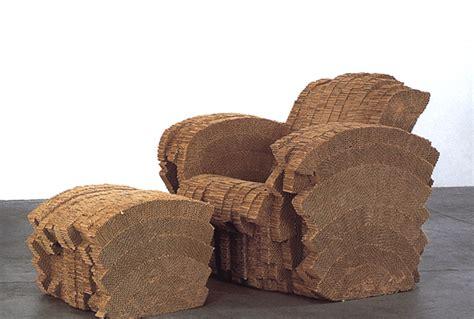frank o gehry cardboard furniture